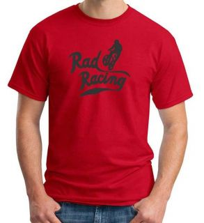 Rad Racing BMX Movie Cru Jones T Shirt Classic Retro 80S