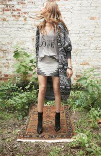 Haute Hippie Cardigan, Tee & Skirt
