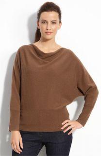 Eileen Fisher Drape Neck Cashmere Sweater