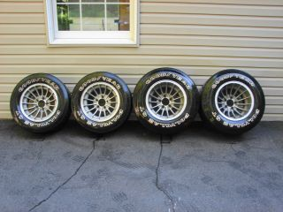 70s Vintage E T Turbine Cyclone Wheels Tires 15x7 5 10 Street Rod