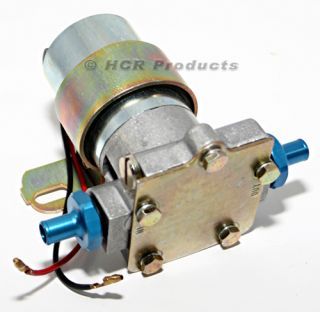 Electric Fuel Pump 14PSI Blue Muscle Car Hot Rod Racing SBC BBC