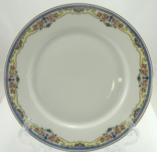 Thuny THU56 China Czechoslovakia Blue Band Dinner Plate