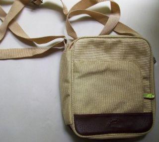 hugo dauphin france canvas cross body messenger bag
