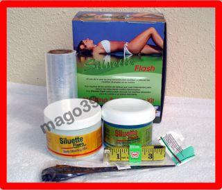 Siluette Flash Parafina Moldeadora Del Cuerpo Con Aloe Ivy Slim Flash