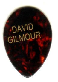 Guitar Pick Pink Floyd David Gilmour Real Tour Pick