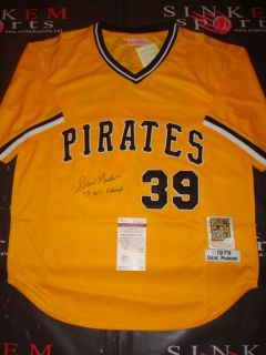 Pittsburgh Pirates Dave Parker Signed Autographed Reds As Jersey JSA