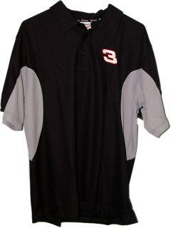 Dale Earnhardt 3 Polo Shirt Medium Chase Authentics