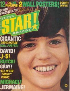 Donny Osmond Michael Jackson 5 Five David Cassidy Michael Gray Teens