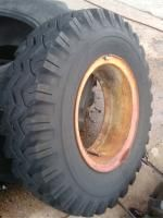 Four Used 10 00x20 Bias Mud Grip Tires