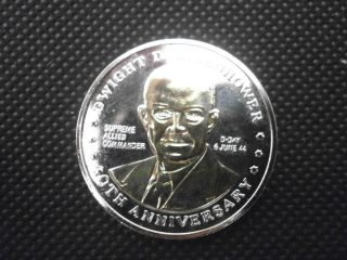 Dwight David Eisenhower series e Double eagle commemorative coin