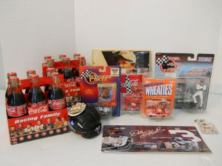 Dale Earnhardt Lot of NASCAR Memorabilia and Collectors Items SKN