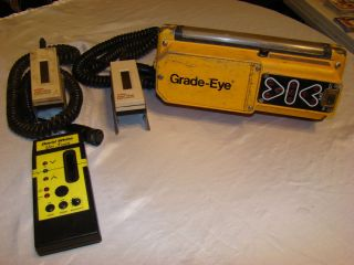 Spectra Precision Grade Eye & David White Laser Equipment Lot