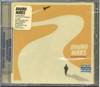 BRUNO MARS, DOO WOPS & HOOLIGANS + 2 BONUS TRACKS. FACTORY SEALED CD