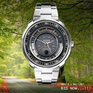 New Moto Guzzi Custom Bigdog Motorcycle Speedometer Sport Metal Watch