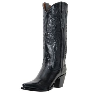 dan post maria snip toe cowgirl boot black style dp3200