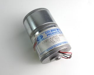Colman Cyqc 42800 41 5 Permanent Magnet DC Motor 12 VDC 3 x 2