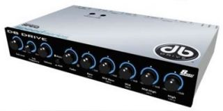 DB Drive 5 Band Pre Amp Equalizer Crossover Audio SPEQ5