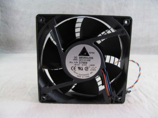 Delta AFC1212DE 120x38mm DC Brushless Fan D7986 Powered