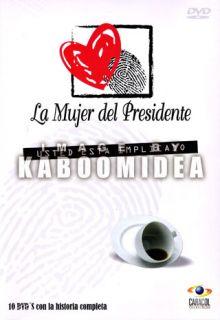 La Mujer Del Presidente Telenovela 10 DVD Original Box
