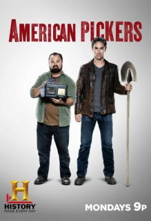 Poster American Pickers Frank Fritz Mike Wolfe Danielle Colby Cushman