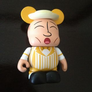 Disney Vinylmation Park 9 Yellow Dapper Dan Variant