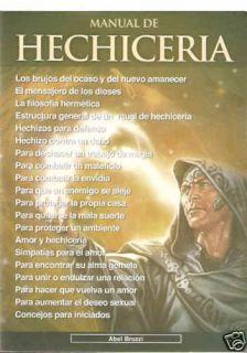 Libro Manual de Hechiceria Rituales Trabajos Hechizos