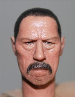 Headplay Danny Trejo 1 6 Figure Head Sculpt Fits Hot Toys 12 Action