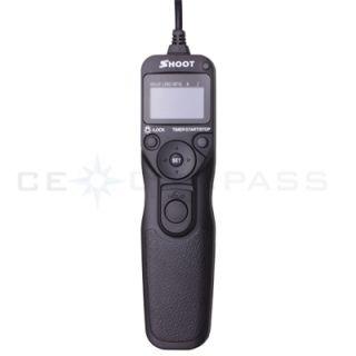 Remote Shutter Release for Canon EOS 1D 1Ds 50D 20D 30D D2000