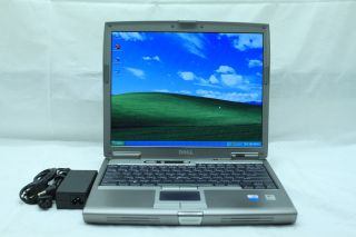 Dell Latitude D610 Laptop P4 M 1 73GHz 40GB 1GB DVD CDRW XP 3 WiFi