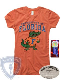 UNIVERSITY OF FLORIDA GATORS WOMENS T SHIRT TOP S