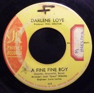 Darlene Love A Fine Fine Boy 45 Soul 117