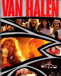 Van Halen 1984 U s Tour Spiral Concert Program Book