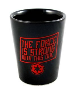 Star Wars Darth Vader Force Strong Ceramic Shot Glass