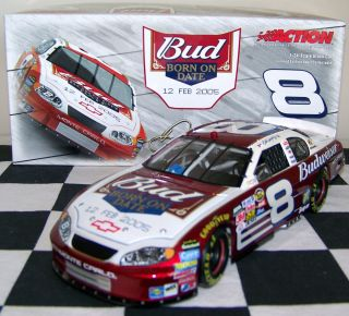 DALE EARNHARDT Jr DIECAST RARE BUD SHOOTOUT BORN ON DATE FEB 12 CLEAN