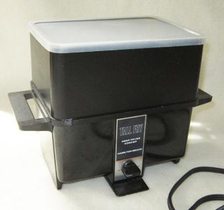 Hamilton Beach Tall Fry Electric Deep Fryer French Fry Kitchen Cooker