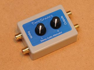 Variable Audio Attenuator Stereo 2 Channels 2 Controls Volume Control