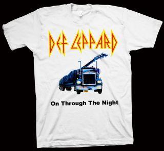 Def Leppard T Shirt AC DC Ratt Van Halen Bon Jovi LP CD