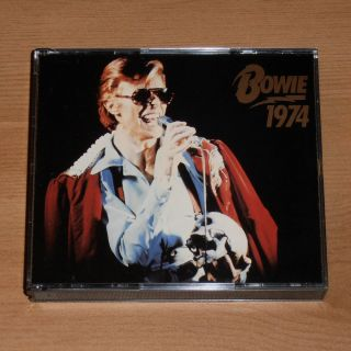 DAVID BOWIE Bowie 1974 RARE LIVE DOUBLE CD Los Angeles USA Sept 5th