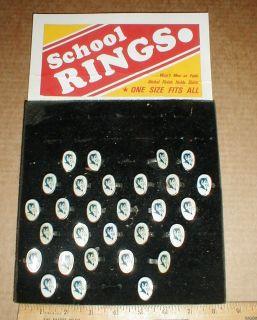 Vintage Duke University Blue Devils School Ring Nickel Finish Choice 1