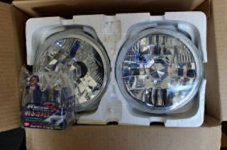 Blue Head Light Kit Fits Porsche 914