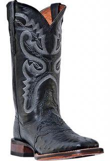 Womens Cowboy Boots Dan Post Junction Medium (B,M) Square Toe Black