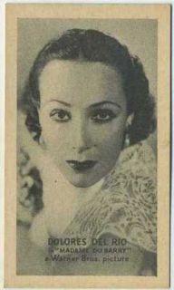 Dolores Del Rio Vintage 1934 Golden Grain T84 American Tobacco Card