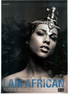 AM AFRICAN~Keep a Child Alive~Alicia Keys~David Bowie~Gwyneth Paltrow