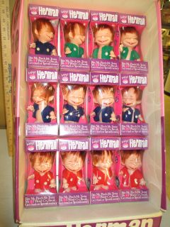 1960s Happy Herman Doll Monster Troll Alfred E Neuman Store Display 12