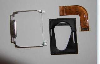 OEM Dell Latitude D420 Hard Drive Caddy w/Rubber, Bracket, Connector