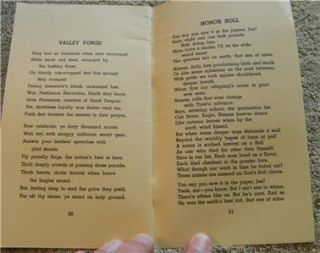 VINTAGE BOY SCOUT   BOY VERSES by DAVID H.MCKENZIE (Summer,1952)