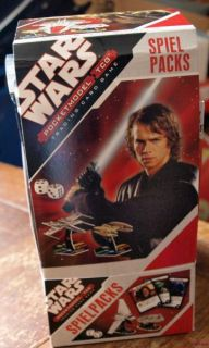 24 x Star Wars Pocketmodel TCG Booster Game Pack
