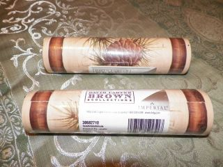 David Carter Brown Collection 2 rolls Pinecone Border Wall Paper