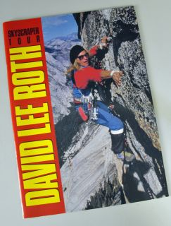 David Lee Roth Skyscraper Tour 1988 Japan Program Book
