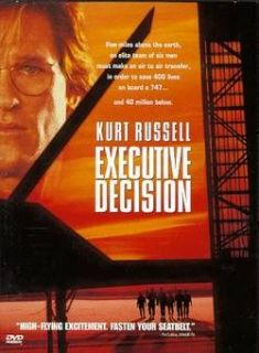 Executive Decision Kurt Russell Halle Berry DVD New